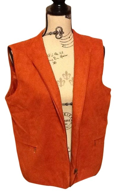 Preload https://img-static.tradesy.com/item/2215649/allison-daley-fire-orange-velvety-quilted-vest-size-petite-12-l-0-2-650-650.jpg