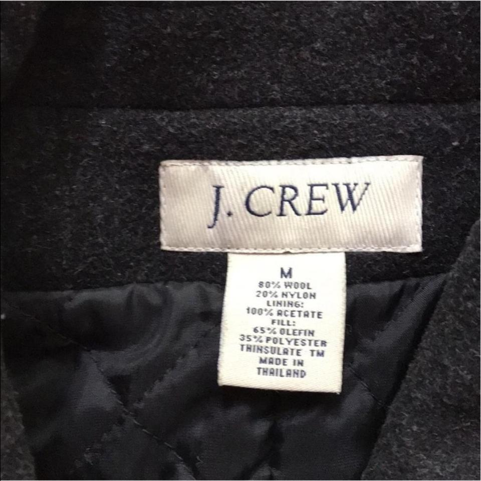 Miltary Crew Grey Coat Jacket J Wool Quilted Thinsulate FYnw4