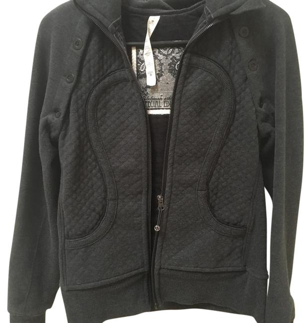 Item - Gray Special Edition Cotton Hooded Jacket Size 6 (S)