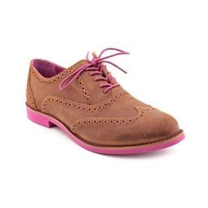 Cole Haan brown, magenta Flats