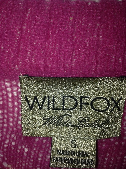Wildfox Distressed Floral Soft Cardigan Sweater