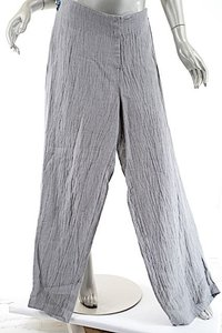 Crea Linen Relaxed Pants Gray