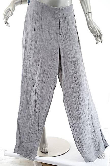 Preload https://img-static.tradesy.com/item/2215715/gray-concept-heather-rayonlinen-blend-wide-leg-po-trouser-44us10-relaxed-fit-pants-size-10-m-31-0-0-650-650.jpg