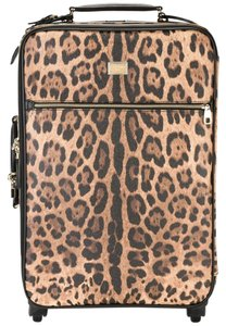 Dolce&Gabbana Suitcase Trolley Carry On Dolce & Gabbana Leopard Travel Bag