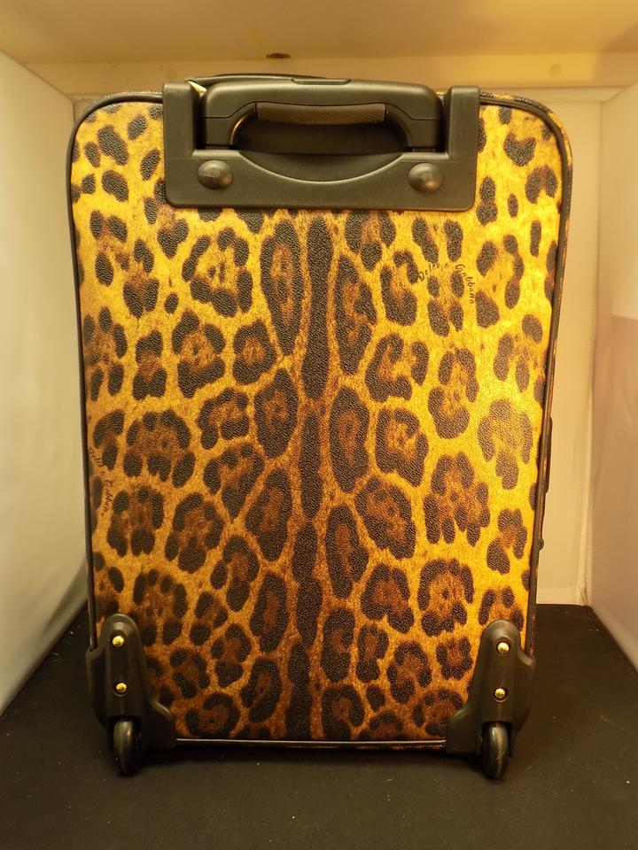32bc42064f02 Dolce Gabbana Suitcase Trolley Carry On Dolce   Gabbana Leopard Travel Bag.  12345678910
