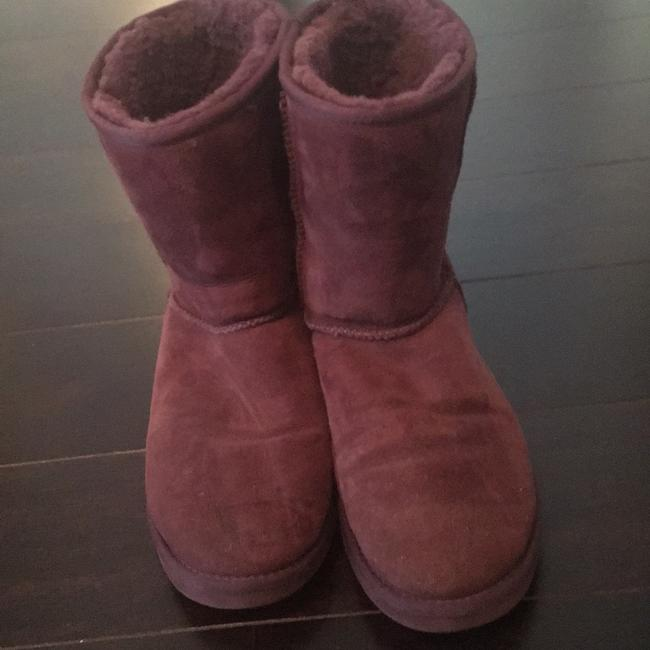 Item - Purple Mid Calf Boots/Booties Size US 9 Wide (C, D)