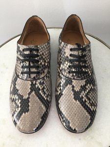 c2676218bd6a Christian Louboutin Grey Black Python Alfred Lucido Flats Size US 9 ...