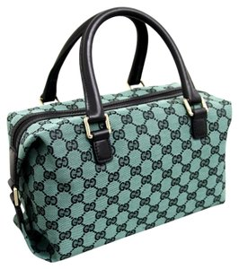 Gucci Gg Joy Boston Satchel in Green