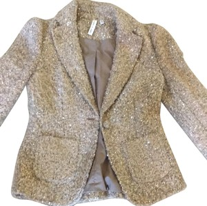 Robbi & Nikki by Robert Rodriguez Gold Blazer