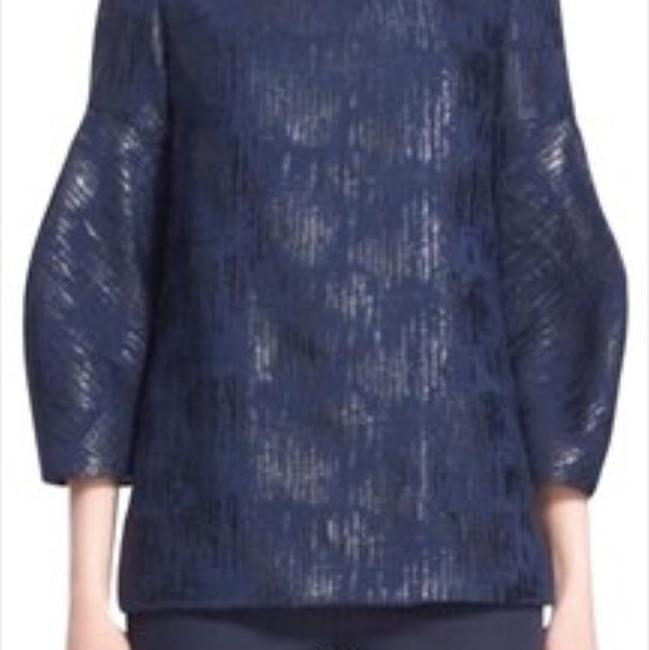 Preload https://img-static.tradesy.com/item/22158154/lela-rose-navy-pf162546-tunic-size-6-s-0-0-650-650.jpg