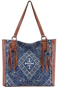 The Sak Tote in Blue
