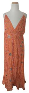 orange Maxi Dress by Roberta Freyman