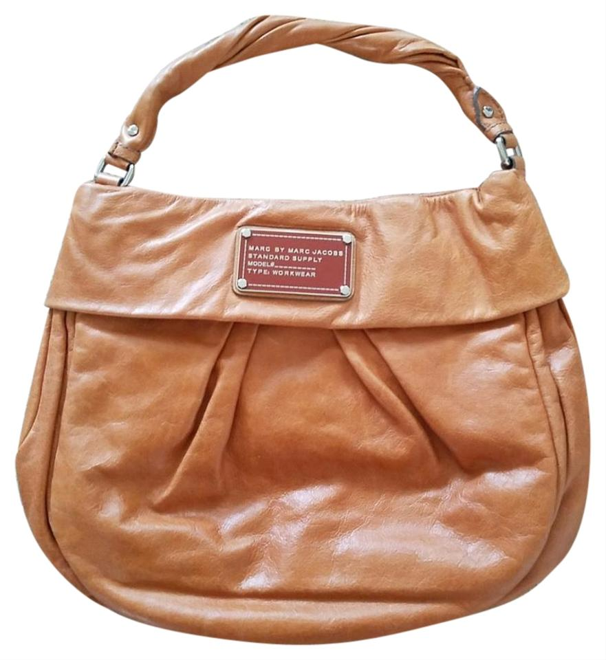 340a53d76262 Marc by Marc Jacobs Bright Cognac Leather Shoulder Bag - Tradesy