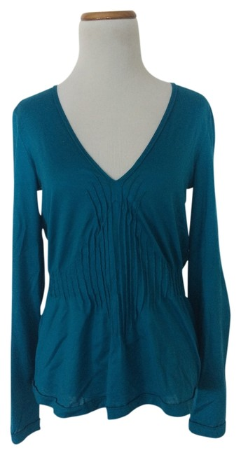 Item - Turquoise Ysl Blouse Size 12 (L)