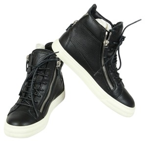Giuseppe Zanotti Sneakers High-top Sneakers High-top Wedge Sneakers White Black Athletic