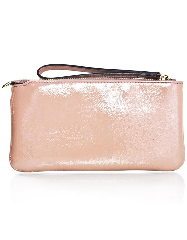 3ff73883bc4 Gucci Soho Wristlet with Box Beige Patent Leather Clutch - Tradesy
