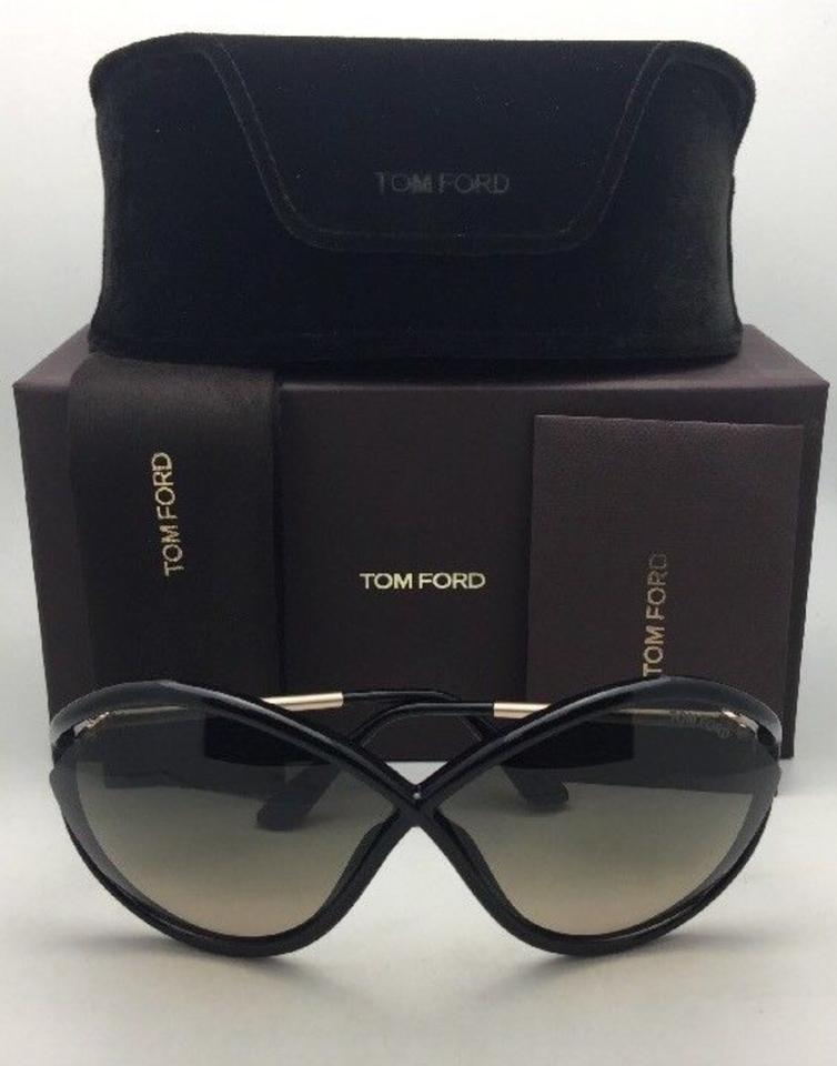 dd2cd5b098fe7 ... TOM FORD Sunglasses LIORA TF 528 01B 70-5 Black-Gold. 123456789101112