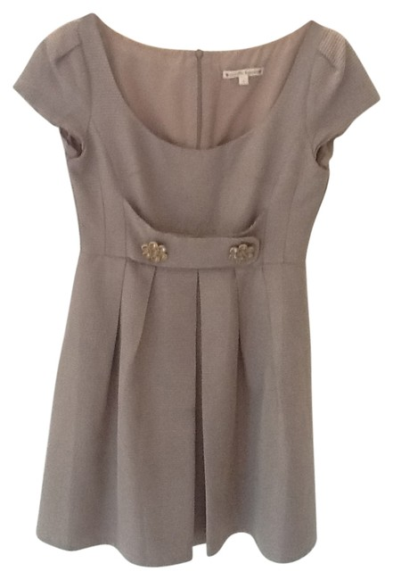 Preload https://item1.tradesy.com/images/nanette-lepore-silvery-taupe-above-knee-night-out-dress-size-2-xs-22160-0-0.jpg?width=400&height=650