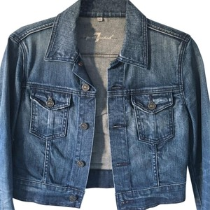 7 For All Mankind Jeanjacket Denim Womens Jean Jacket
