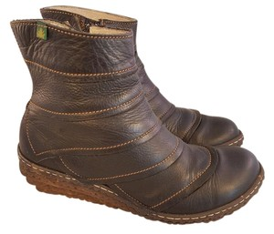 El Naturalista Ankle Woman Brown Boots