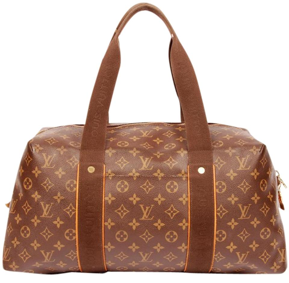 louis vuitton near new weekender beaubourg mm boston 5150 brown travel bag on tradesy. Black Bedroom Furniture Sets. Home Design Ideas