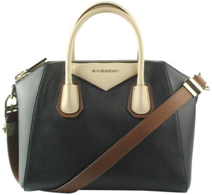 Givenchy Satchel in Black, Beige, Luggage
