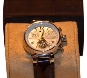 Louis Vuitton 34MM Louis Vuitton Tambour Lovely Cup Chronograph Watch