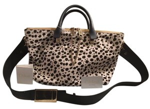 Chloé Satchel in Black and White