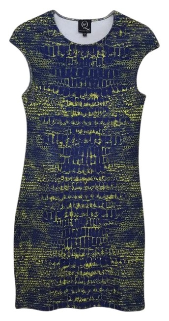 Item - Multicolor Bodycon Mid-length Short Casual Dress Size 4 (S)