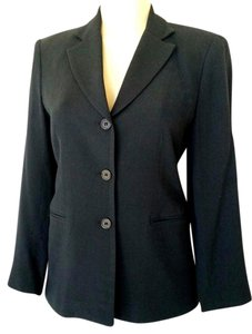 Oscar de la Renta Jacket Formal Black Blazer