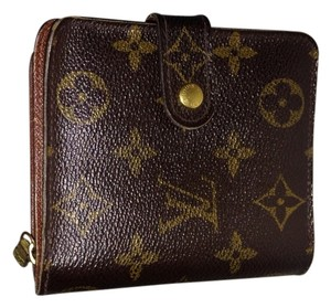 Louis Vuitton Louis Vuitton Kisslock purse Pouch Monogram Clutch