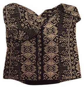 Anna Sui Top Black