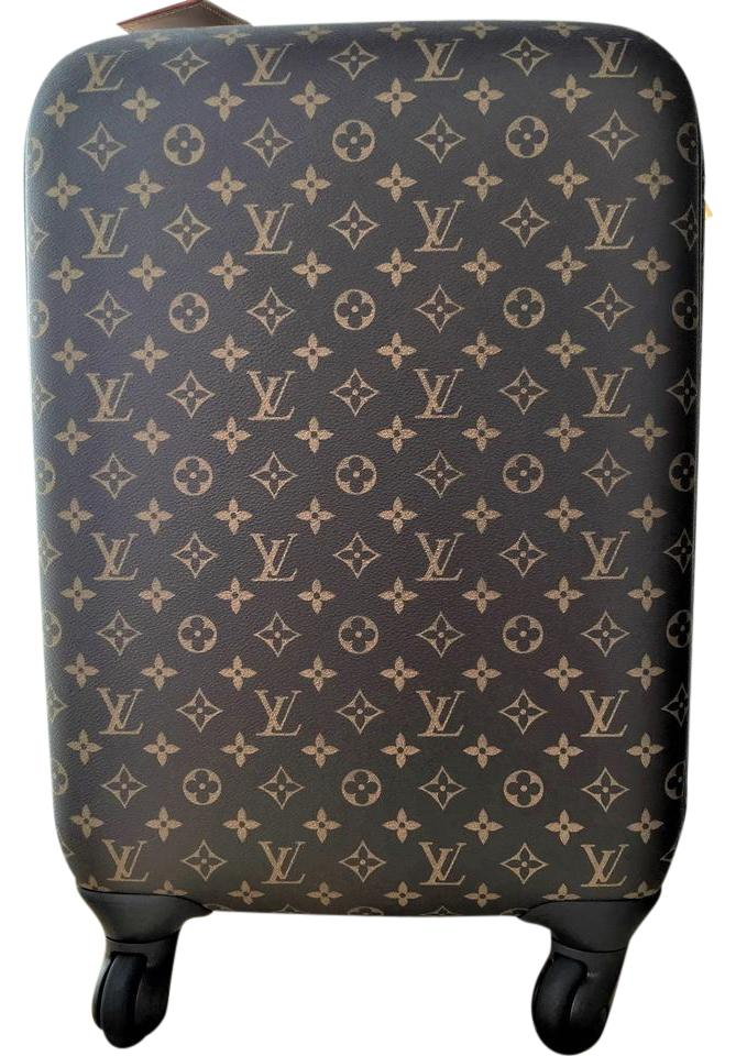 d0fe7ae3e695 Louis Vuitton New Suitcase Luggage Lv Rolling Pegase 55 Brown Multicolor  Canvas Leather Monogram Clutch