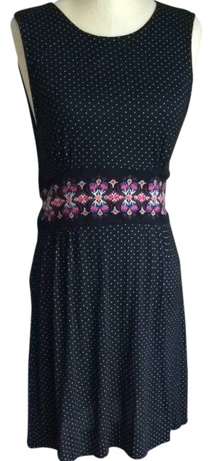 Preload https://item2.tradesy.com/images/free-people-black-mid-length-short-casual-dress-size-8-m-2216201-0-0.jpg?width=400&height=650