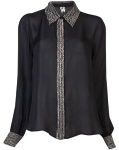 Haute Hippie Top Black