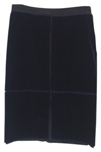 Saint Laurent Ysl Skirt blue