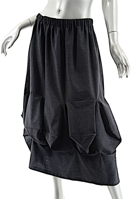 Preload https://item3.tradesy.com/images/black-charcoal-wool-blend-balloon-front-os-midi-skirt-size-os-one-size-2216327-0-0.jpg?width=400&height=650