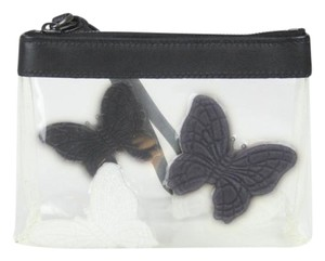 Bottega Veneta Wristlet Transparent Clutch