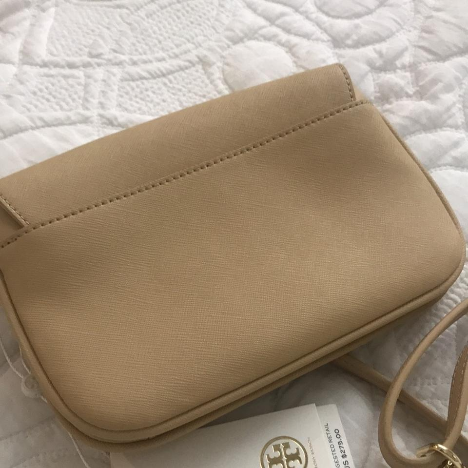 Nude Attached Cross Body Bag Wheat Tory Toasted Burch q1g7BxBwZ