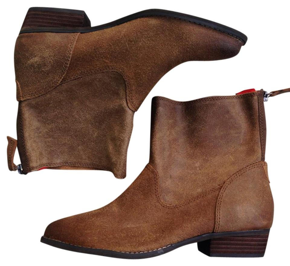 DV by Dolce Distressed Vita Brown Distressed Dolce Ankle Boots/Booties 2f33dd