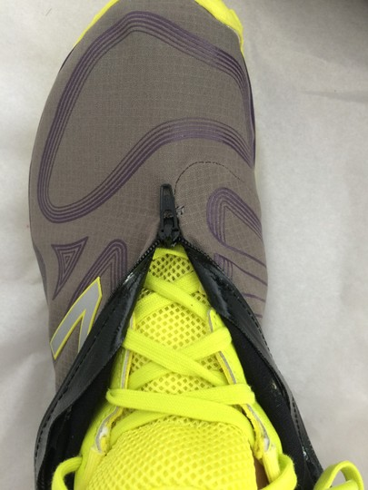 New Balance grey and yellow Athletic