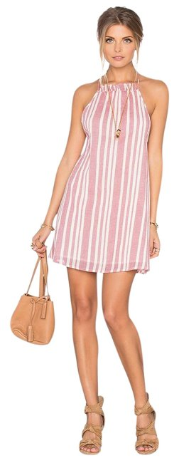 Item - Red and White Windsor Mini Short Casual Dress Size 2 (XS)