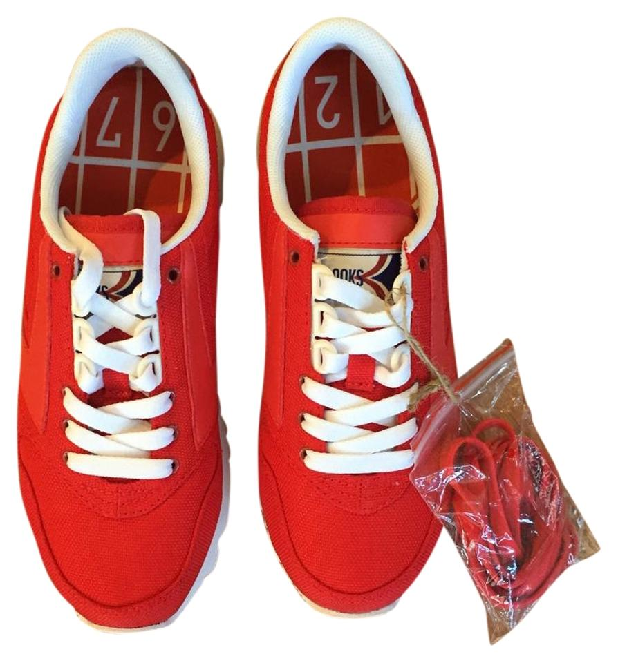 a5f27a429fc Brooks Red Chariot Sneakers Size US 6.5 Regular (M