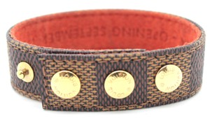 Louis Vuitton #14382 Damier Ebene Limited edition Kobe bracelet cuff bangle