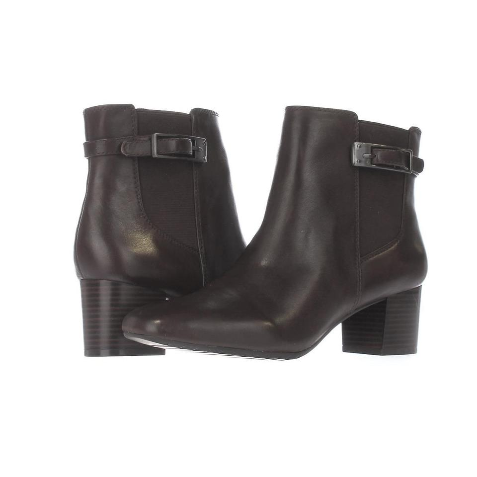 Bandolino Brown Lethia Dress Ankle Boots/Booties F26 Dark Brown/Dark Di Boots/Booties Ankle c8d7b0