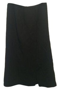 Prada Slit Skirt black