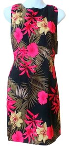 AGB short dress Multi Sheath Floral Tropical New on Tradesy