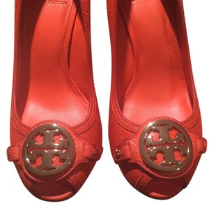 Tory Burch Poppy Red Wedges