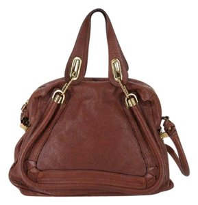 Chloé Chic Fall Satchel in brown