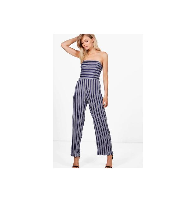 Preload https://img-static.tradesy.com/item/22165795/navy-abi-stripe-wide-leg-strapless-us-6p-long-romperjumpsuit-size-petite-6-s-0-0-650-650.jpg